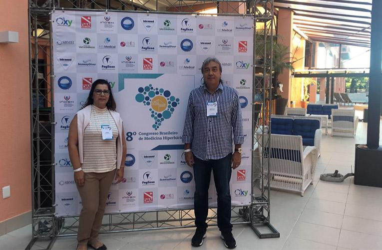 8º Congresso Brasileiro de Medicina Hiperbárica realizado em Florianópolis
