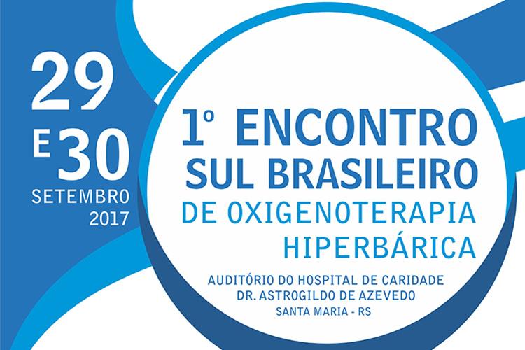 1º Congresso Sul Brasileiro de Oxigenoterapia Hiperbárica